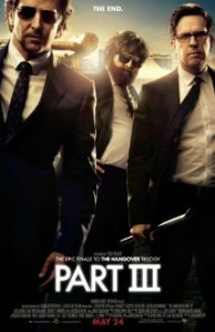 The fourth worst film: The Hangover Part III