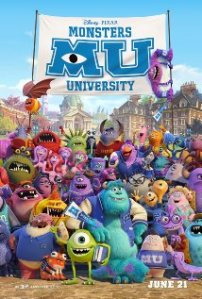 1. Monsters University (6/21)