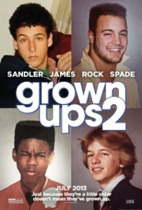 Second worst: Grown Ups 2