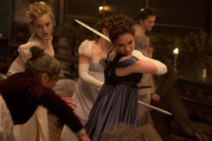 Pride and Prejudice and Zombies(2016)