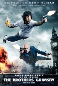The Brothers Grimsby, poster