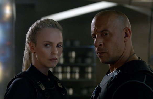 The Fate of the Furious - Charlize, Vin