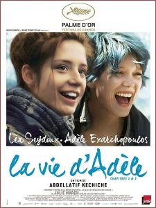 Blue is the Warmest Colour, poster